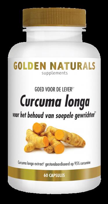 Curcuma Longa 60 veganistische capsules