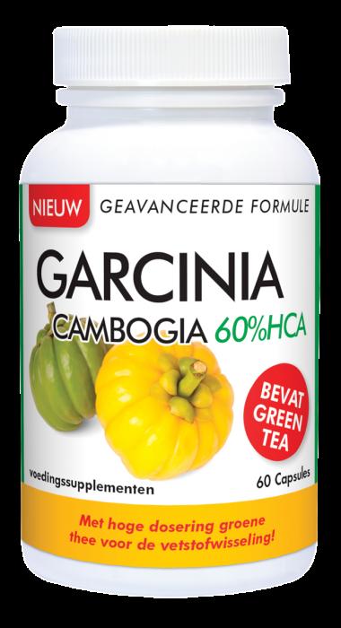 Garcinia Cambogia 60%HCA 60 capsules