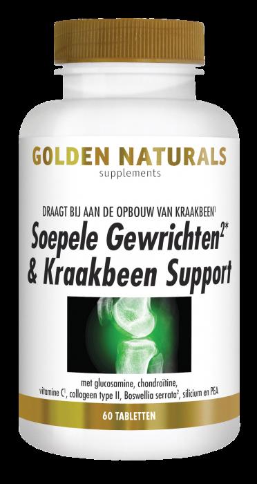 Soepele Gewrichten & Kraakbeen Support 60 tabletten