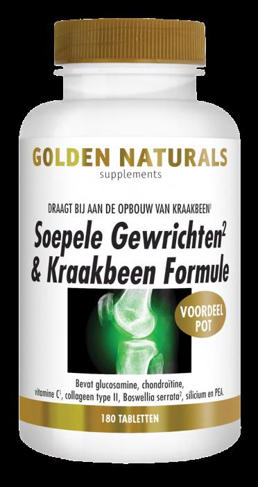 Soepele Gewrichten & Kraakbeen Formule 180 tabletten