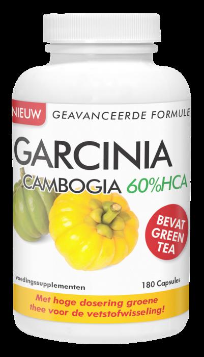 Garcinia Cambogia 60%HCA 180 capsules