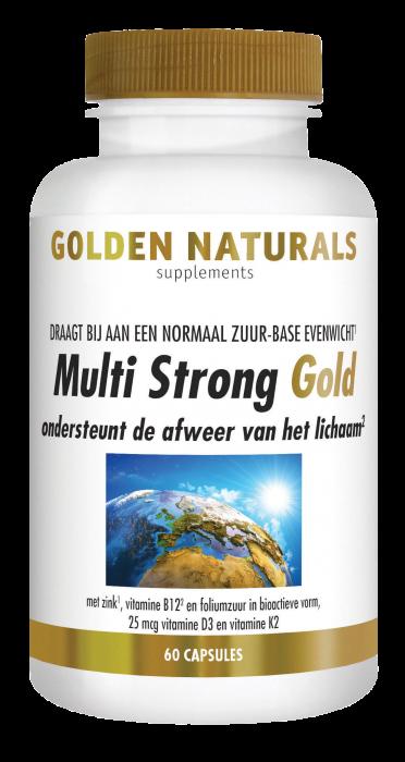 Multi Strong Gold 60 vegetarische capsules