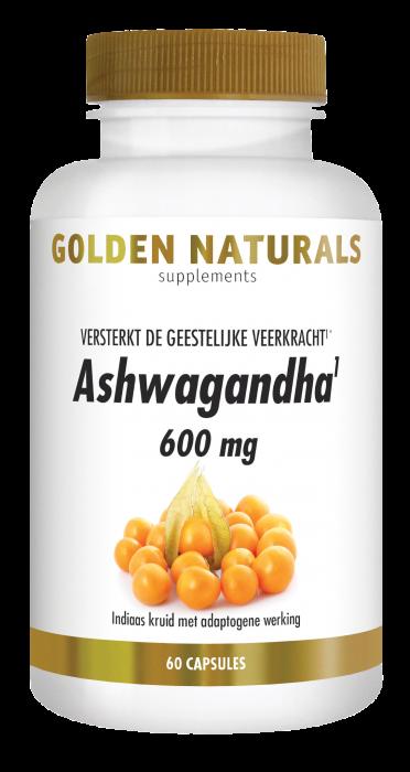 Ashwagandha 600 mg 60 vegetarische capsules