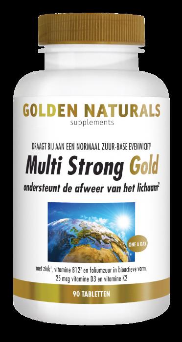 Multi Strong Gold 90 vegetarische tabletten