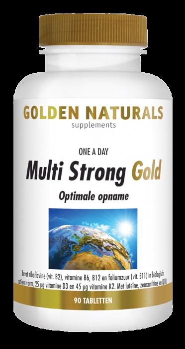 Multi Strong Gold 90 tabletten