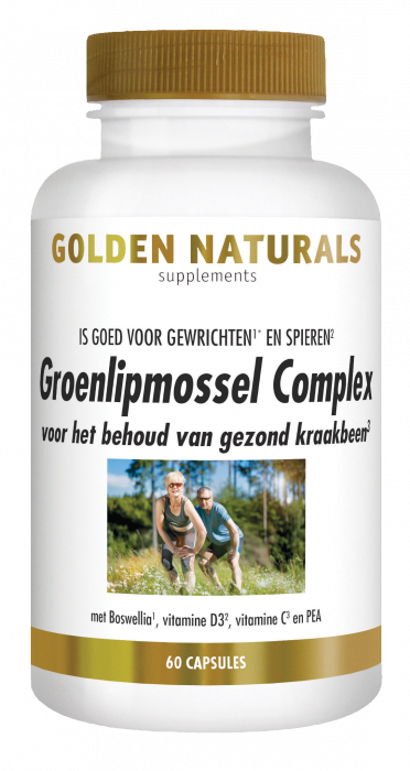 Groenlipmossel Complex 60 capsules