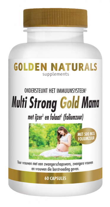 Multi Strong Gold Mama 60 vegetarische capsules