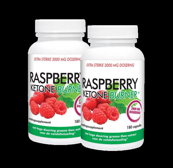 Duopakket Raspberry Ketone Burner+ 2 x 180 capsules