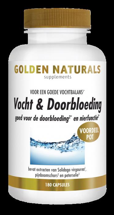 Vocht & Doorbloeding 180 veganistische capsules