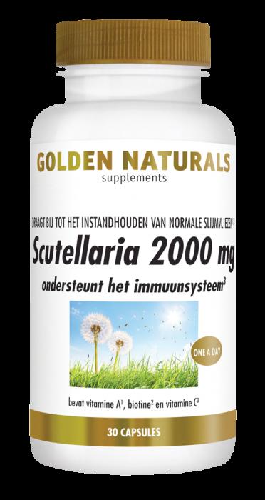 Scutellaria 2000 mg 30 veganistische capsules