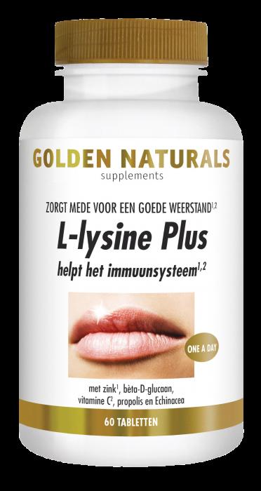 L-lysine Plus 60 vegetarische tabletten