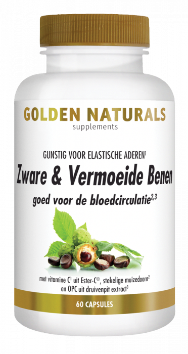 Zware & Vermoeide Benen 60 vegetarische capsules