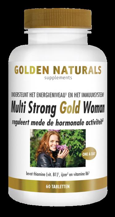 Multi Strong Gold Woman 60 vegetarische tabletten