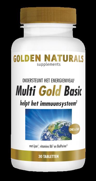 Multi Gold Basic 30 vegetarische tabletten