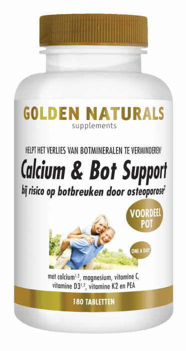 Calcium & Bot Support 180 vegetarische tabletten
