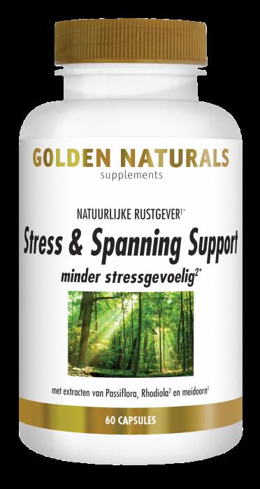 Stress & Spanning Support 60 vegetarische capsules