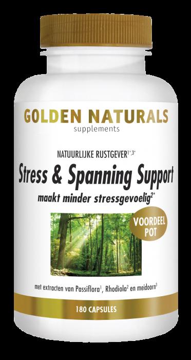 Stress & Spanning Support 180 vegetarische capsules