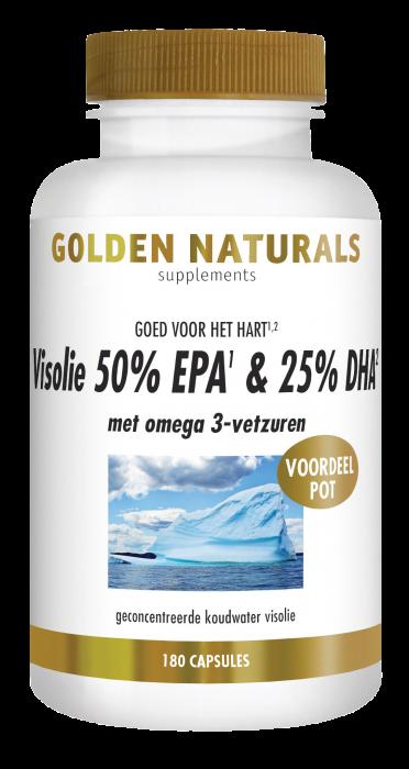Visolie 50% EPA & 25% DHA 180 softgel capsules