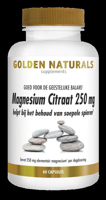 Magnesium Citraat 250 mg 60 veganistische capsules
