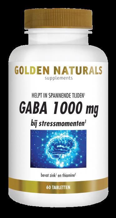 GABA 1000 mg 60 veganistische tabletten