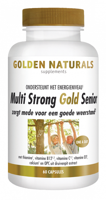 Multi Strong Gold Senior 60 vegetarische capsules