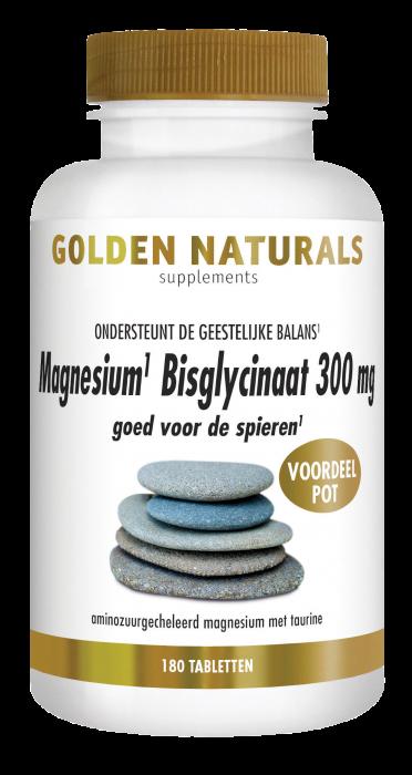Magnesium Bisglycinaat 300 mg 180 veganistische tabletten