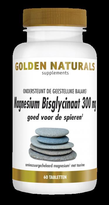 Magnesium Bisglycinaat 300 mg 60 veganistische tabletten