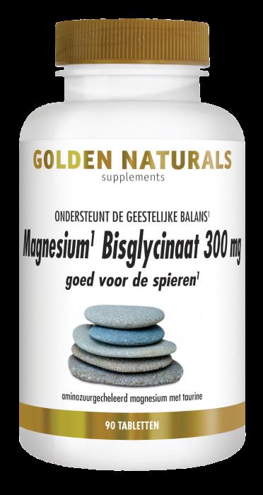 Magnesium Bisglycinaat 300 mg 90 veganistische tabletten