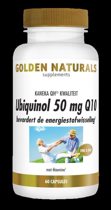 Ubiquinol 50 mg Q10 60 veganistische capsules