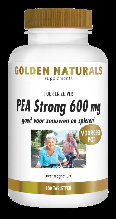 PEA Strong 600 mg 180 veganistische tabletten