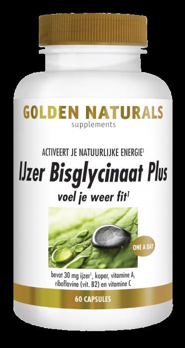 IJzer Bisglycinaat Plus 60 veganistische capsules