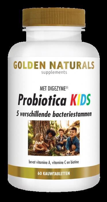 Probiotica KIDS 60 veganistische kauwtabletten