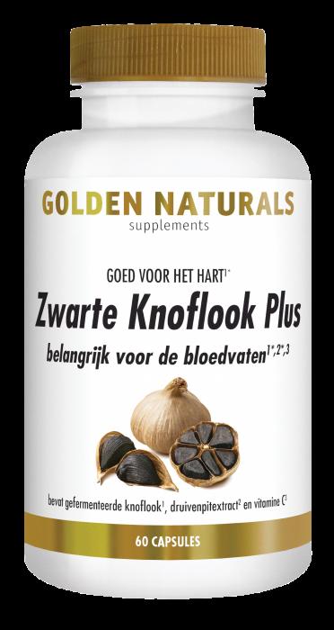 Zwarte Knoflook Plus 60 veganistische capsules