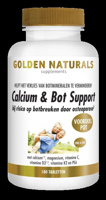 Calcium & Bot Support 180 vegetarische tabletten