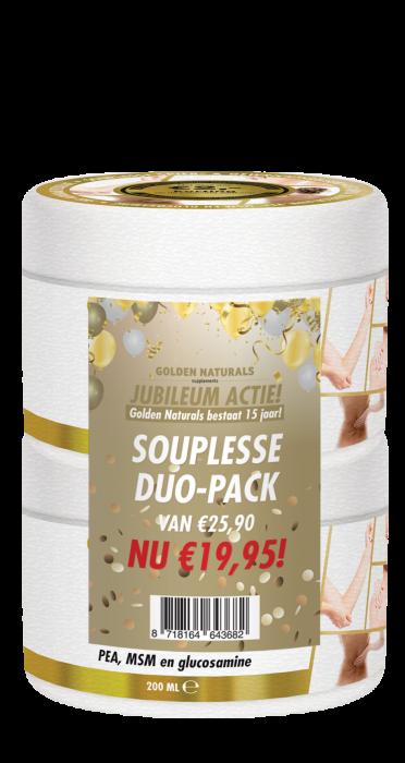 Souplesse Spier- & Gewrichtsbalsem DUO-PACK 2 x 200 milliliter