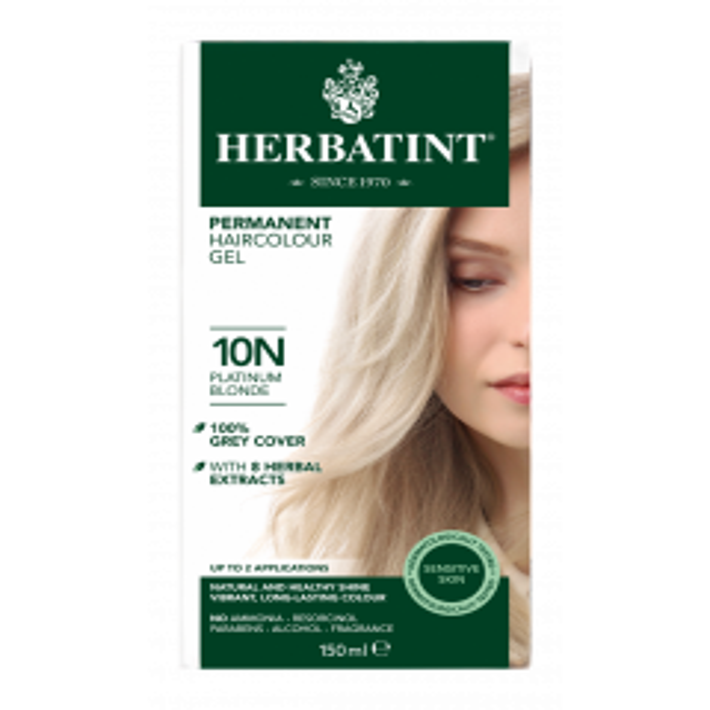 Herbatint 10N Platinum Blonde 150 milliliter