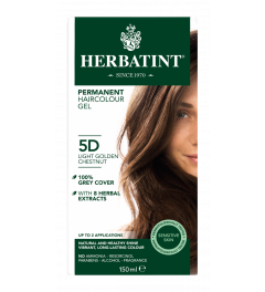 Herbatint 5D Light Golden Chestnut 150 milliliter