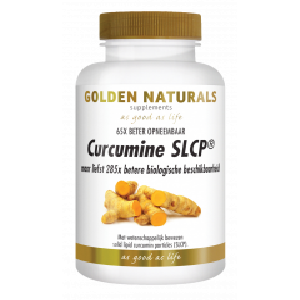 Golden Naturals Curcumine SLCP® 60 vegetarische capsules