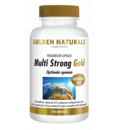 Golden Naturals Multi Strong 180 vegetarische capsules