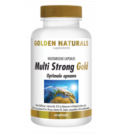 Golden Naturals Multi Strong 60 vegetarische capsules