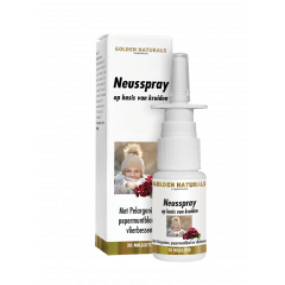 Golden Naturals Neusspray 20 milliliter