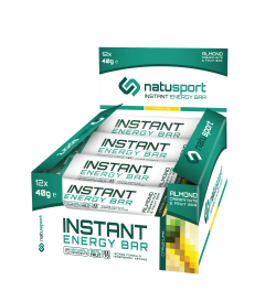 NatuSport Instant Energy Bar - Citrus Lime 12 x 40 gram
