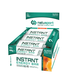 NatuSport Instant Energy Bar - Fresh Orange 12 x 40 gram