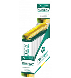 NatuSport Energy Performance Gel - Lemon Lime 12 x 40 gram