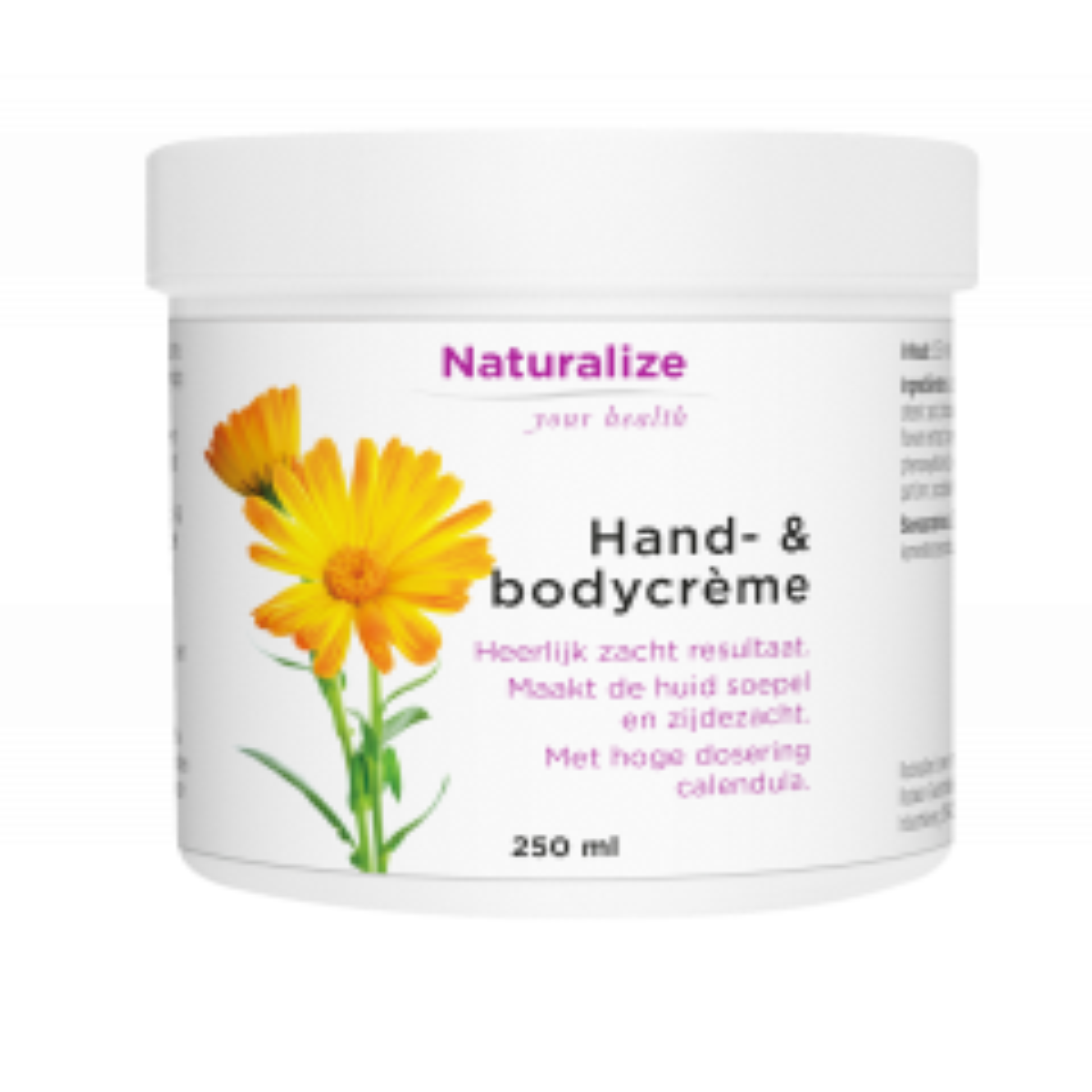 Naturalize Hand- & bodycrème 250 milliliter