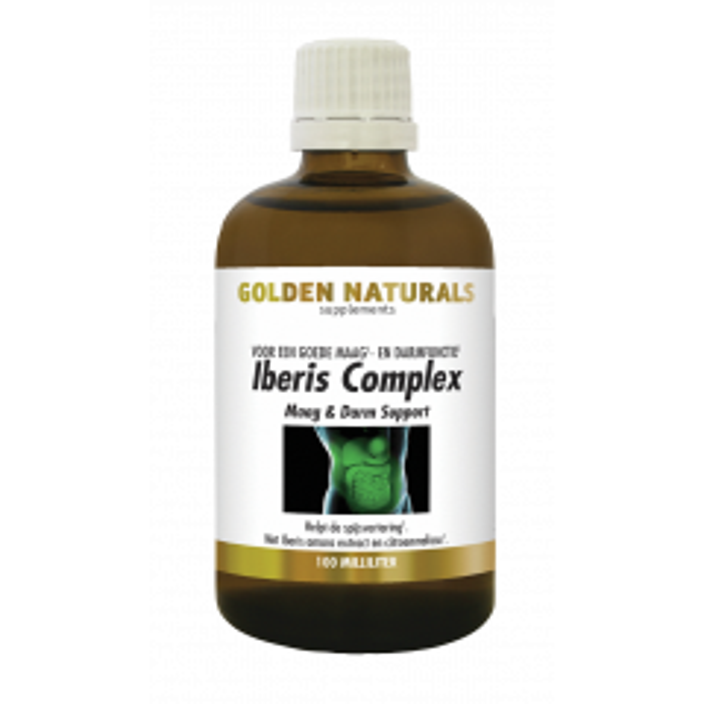 Golden Naturals Iberis Complex Maag & Darm Support 100 milliliter