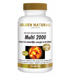 Golden Naturals Multi 2000 180 tabletten