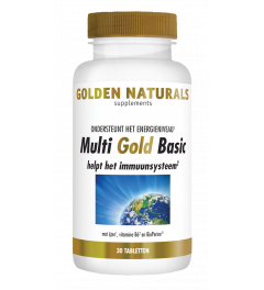 Golden Naturals Multi Gold Basic 30 vegetarische tabletten
