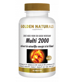 Golden Naturals Multi 2000 60 tabletten