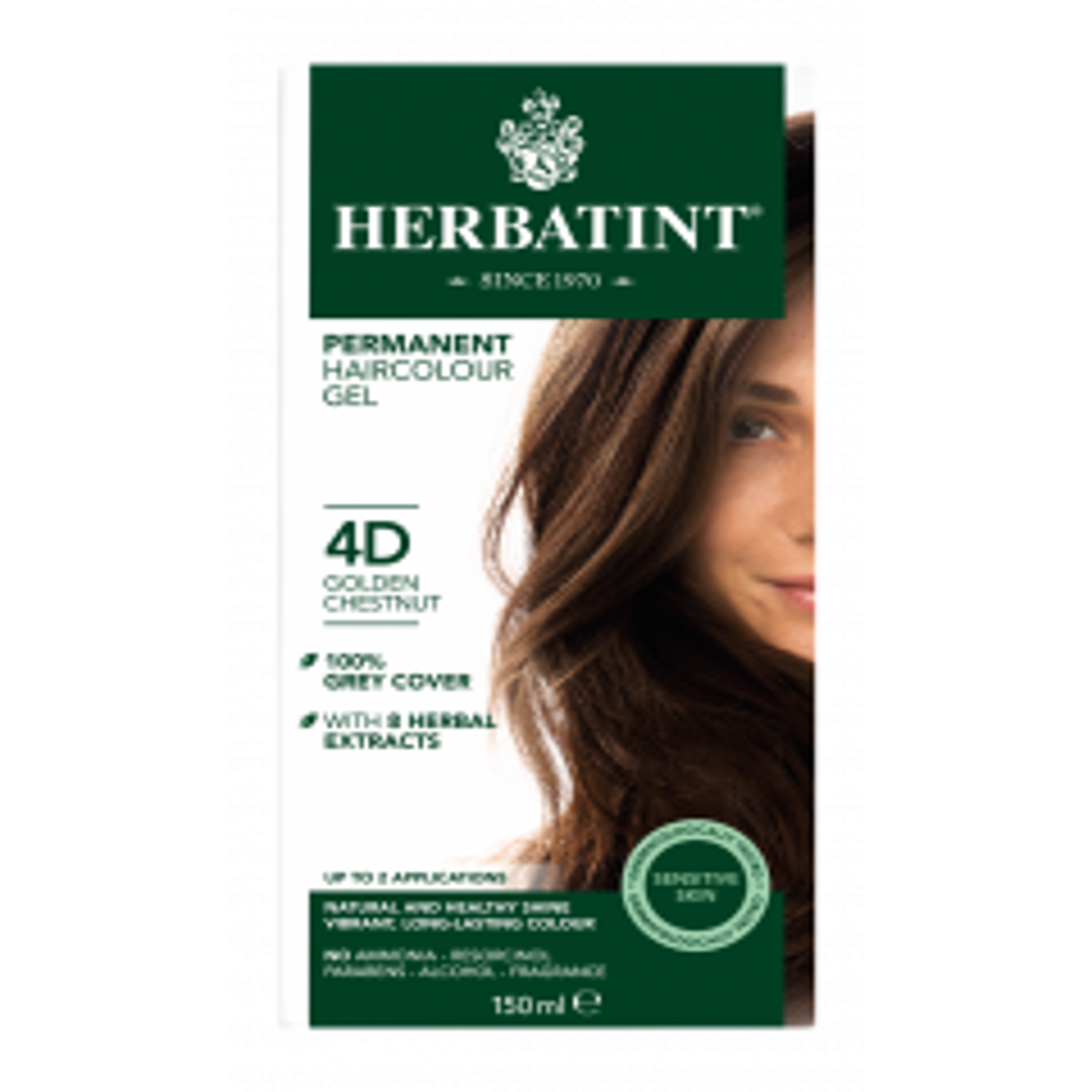 Herbatint 4D Golden Chestnut 150 milliliter
